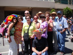 my amazing family enjoying Pride together