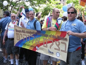 Rabbi's Marching in the 2009 Pride Parade