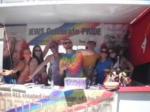 Our annual Jewish community booth