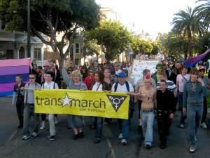 Trans Marchers
