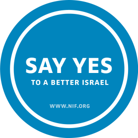 Say Yes to Better Israel with the New Israel Fund
